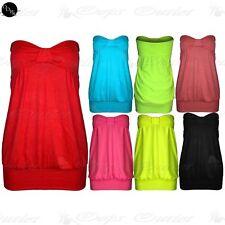 Casual Bandeau Dresses Plus Size for Women