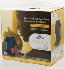 Touch Brewer Brewing System Single Cup Coffee Compatible w All Keurig K-Cup Pods