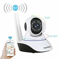 720P Wifi Wireless IP Camera Home Security Monitor Remote Webcam Baby Refurbish
