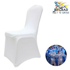 Plain White Chair Cover Elegant Chair Cover For Wedding Birthday Party Events UK