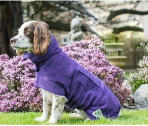 Dog Drying Coat Robe Towel, Dog Bathrobe, Absorb Moisture and Dry Pet Quickly