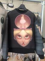 Authentic juun j Hooded Sweater Shirt Black Sz46