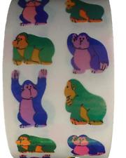 "400 Ape stickers in roll of 100 modules (2"" x 2""), each sticker 1.00"" Rm1301"