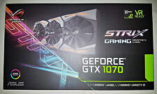 ASUS ROG Strix GeForce GTX 1070 Gaming Grafikkarte 8GB!Nagelneu! Versiegelt!TOP!
