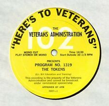 THE TOKENS b/w LOU RAWLS - HERE'S TO VETERANS- PROMO LP