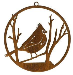 Bird Art | Red Cardinal Art | Cardinal Bird Gift | Metal Wall Art