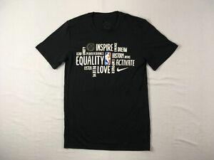 Nike Short Sleeve Shirt Men's Black Dri-Fit Used Multiple Sizes