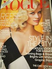VOGUE US 5/2011 Reese Witherspoon PETER LINDBERGH Bruce Weber ANNIE LEIBOVITZ