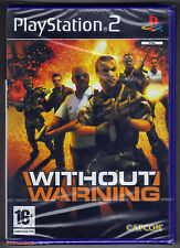 PS2 Without Warning (2005), UK Pal, Brand New & Sony Factory Sealed