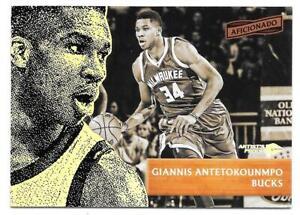 2016-17 Giannis Antetokounmpo Panini Aficionado Artist's Proof - Milwaukee Bucks