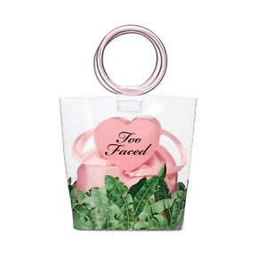 TOO FACED Beach To The Streets Clear Small Tote Bag (empty) Brand New Free Shipp