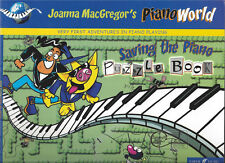 New Saving the Piano Puzzle Book by Joanna MacGregor