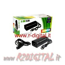 ALIMENTATORE per MICROSOFT XBOX 360 SLIM TRASFORMATORE X-BOX RICAMBIO X BOX 135W