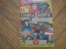 GLI ALBI DEI 3 PORCELLINI #7 LA CHIAVE D'ARGENTO ISPETTORE WADE DISNEY 1936