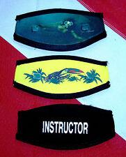Ez Wrap Mask strap cover neoprene scuba dive snorkel equip Model Mm,P, Y Trident