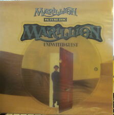 """► Marillion - 12"""" Uninvited Guest / The Bell in the Sea (shaped Pic Disc) (UK)"""