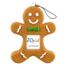 "ZOpid HF-Z015GM 1.5"" Display Gingerbread Man Digital Photo Frame Ornament NEW"