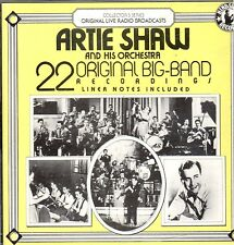 Artie Shaw & His Orchestra -  22 Original Big-Band Recordings  ......Y7