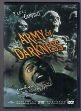 Army of Darkness - DVD, Bruce Campbell, 1992, NTSC, Region 1