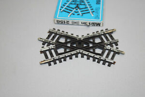 Märklin 2158 Crossing K Track Gauge H0 Boxed