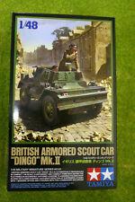 Tamiya BRITISH ARMOURED SCOUT CAR DINGO MKII 1/48 Scale Kit 32581