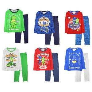 PJ Masks Long Sleeve Pyjamas - 2 to 8 Years