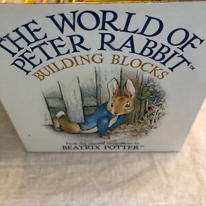 Beatrix Potter The World Of Peter Rabbit Building Blocks Learning Toy Gift