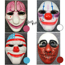 Anime Cosplay Halloween Payday 2 II Maske Requisiten Accessoires Kinder Gifts DE