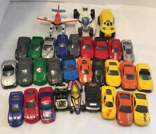 Huge Lot Toy Vehicles 39 Batman Superman Plane Metal Plastic