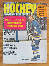 Hockey Illustrated March 1972 GARY UNGER ST LOUIS BLUES Magazine
