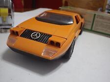 Schuco (Germany) Orange Mercedes-Benz C111 Plastic/Electric 1:16 NIB