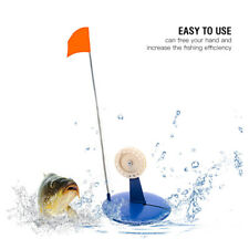 Ice Fishing Rod with Flag Plate Hole Cover Round Tip-Ups Fishing Equipment NEW