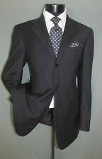 superb Ted baker Three Buttons Side Vents Charcoal Stripes Men Jacket 40 L