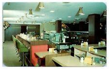 1950s/60s Crown Coffee Shop, Crown Hotel, Providence, RI Postcard