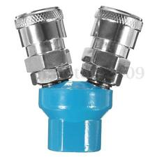 2 Way 1/4'' NPT Y Type Pass Quick Fitting Connect Coupler Tool Air Hose