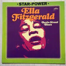 Ella Fitzgerald - Basin Street Blues - Intercord Star-Power - LP Vinyl