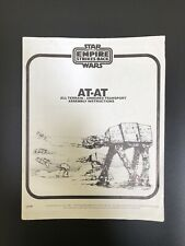 Vintage Star Wars AT AT Instructions Palitoy 1981 ESB