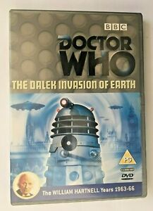 Doctor Who THE DALEK INVASION OF EARTH William Hartnell Years 1963-66 2 Disk Set