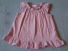 Pumpkin Patch Gorgeous Girls Lavender Broderie Anglaise Dress, Size 12-18 Months