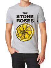 The Stone Roses LOGO FRUIT OF THE LOOM  T-SHIR S-XXL GREY, WHITE