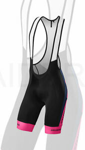 Specialized Men's Cycling SL Expert Bib Short Team Navy / Neon Pink - Medium
