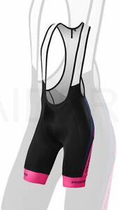 Specialized Men's Cycling SL Expert Bib Short Team Navy / Neon Pink - Medium
