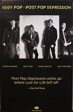 IGGY POP, POST POP DEPRESSION POSTER (M8)