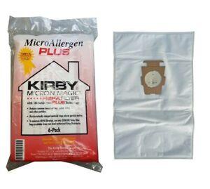 KIRBY VACUUM BAGS-SENTRIA MICRO ALLERGEN PLUS HEPA FILTER VACUUM BAGS