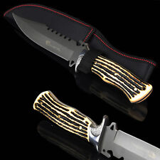 Couteau de chasse 8CR13MOV CRYSTAL Jagdmesser Reisemesser - HUNTER KNIFE ND223