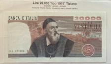 Italy 20000 Lire 1974 Tiziano Vecellio UNC