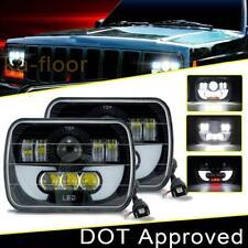 300W 7X6 CREE LED Headlights for Ford E-150 E-350 Econoline Club Wagon Cargo Van
