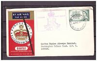s16142) AUSTRALIA 2.6.1953 AM Cover QEII Coronation Sidney London