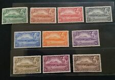MONTSERRAT 1932 KG V 1/2d to 5s SG 84 - 93 Sc 75 - 84 300th Anniv set 10 MLH