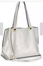 Mia Silver Shopper Bag